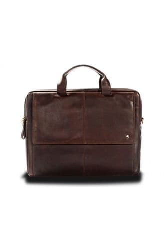 Visconti Leather Business Bag